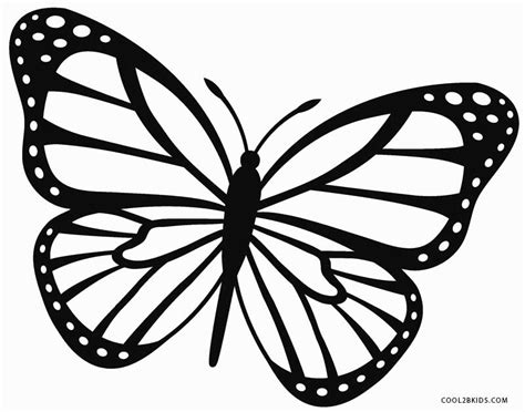 coloring pages of monarch butterflies printable butterfly coloring pages for kids cool2bkids