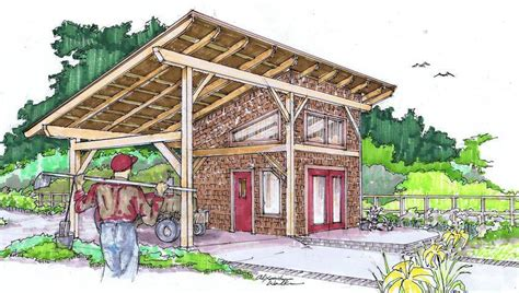 timber frame shed barn