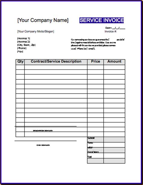 roofing invoice template construction invoice templates hardhost info
