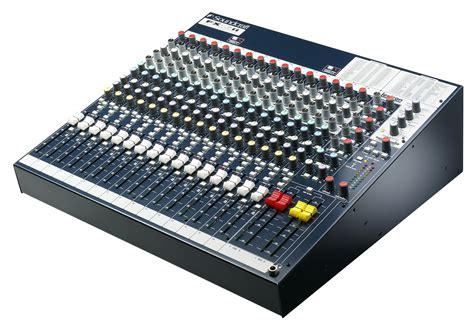soundcraft spirit fx16ii sound 7