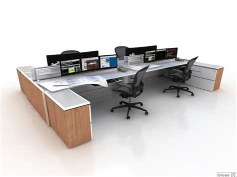 Trading Desk Furniture by Trading Desk Benching System 6