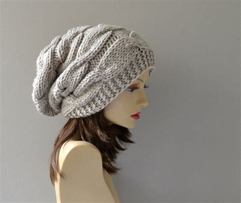 etsy knit hats winter hat knit hat slouchy beanie beanie hat
