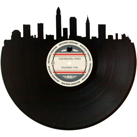 Cleveland Records Cleveland Skyline Records Redone Label Vinyl Record