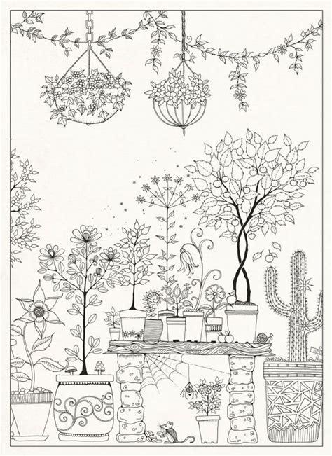 johanna basford coloring book secret garden secret garden 20 postcards by johanna basford