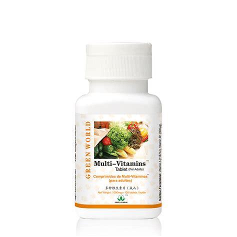 Multi Vitamin Tablet For Children Green World 4