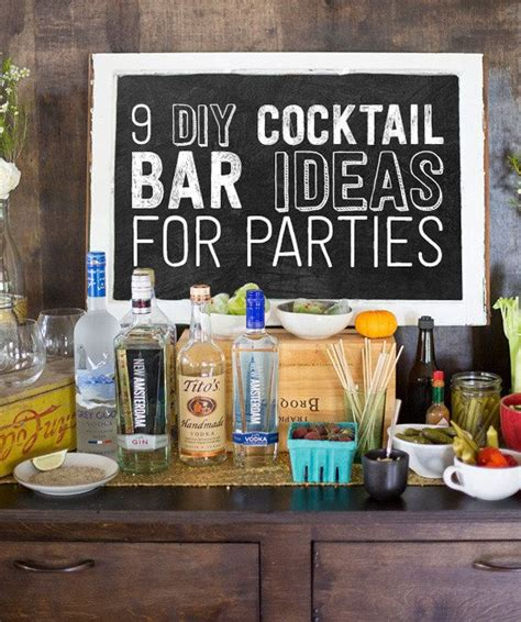 diy martini bar 25 best ideas about bar set up on bonfire