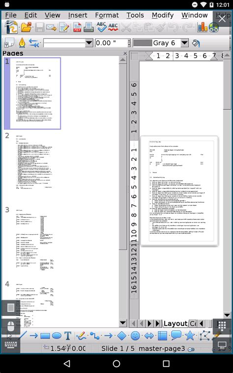 openoffice android andropen office openoffice for android andropen office 2 5 6 released
