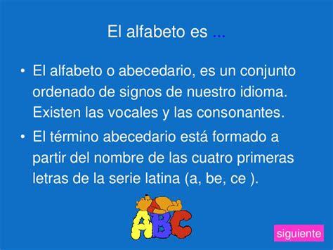 el orden alfabtico m 243 dulo el orden alfab 233 tico