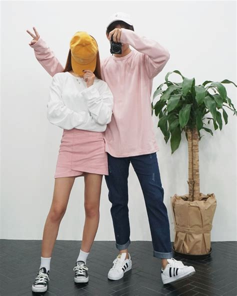 cute matching couple outfits one of several couples who korean couple fashion outfits ideas for couples