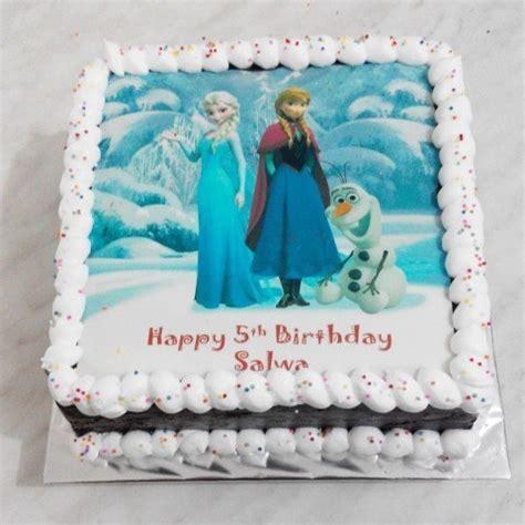 cake ulang tahun anak karakter 10 desain cake ulang tahun tema frozen