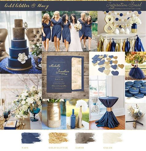 navy and gold wedding mood board and inspiration kate s wedding colors in 2019 blue