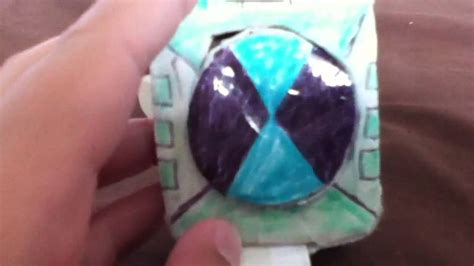 How To Make Paper Omnitrix - paper ben 10 omnitrix touch