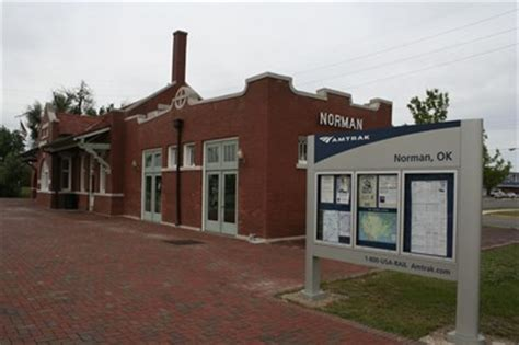 santa fe depot norman oklahoma stations depots