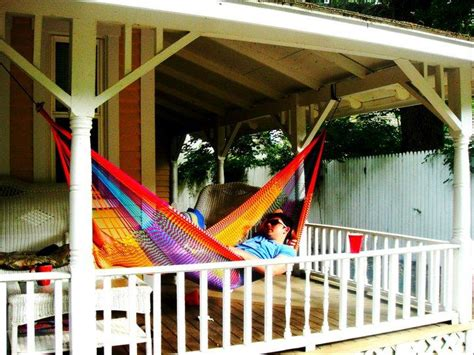 Porch Hammock Welcome To Our Front Porch Yellow Leaf Hammocks