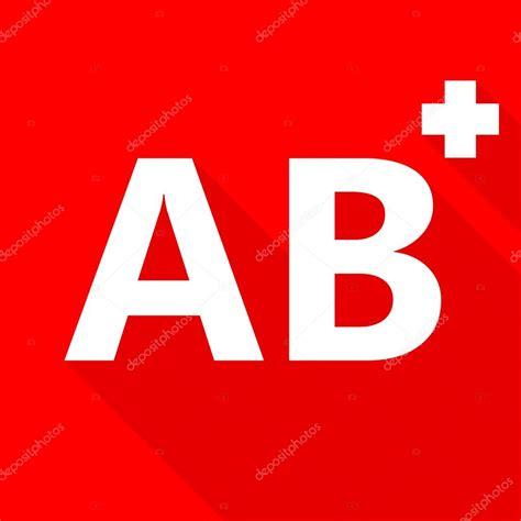Ab Blood Type ab blood type on background stock photo 169 art8mb