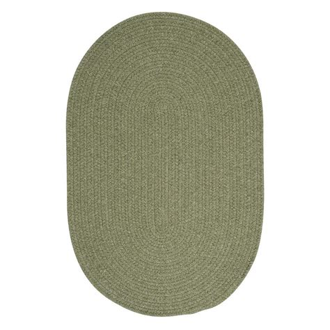 3 foot rug home decorators collection edward light green 3 ft x 5 ft braided area rug wl10r036x060 the