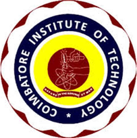 171 2015 187 by Coimbatore Institute Of Technology Autonomous