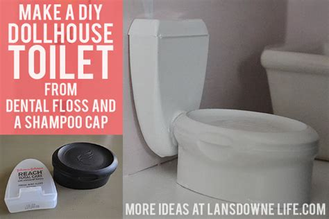 doll house toilet diy dollhouse bathroom furniture part 6 of 6 lansdowne life