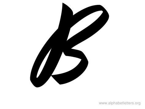 printable large script letters alphabet letters b printable letter b alphabets alphabet