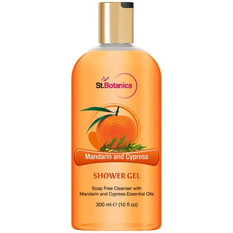 Best Luxury Shower Gel by St Botanica Mandarin Cypress Luxury Shower Gel 300 Ml Vitamins Estore