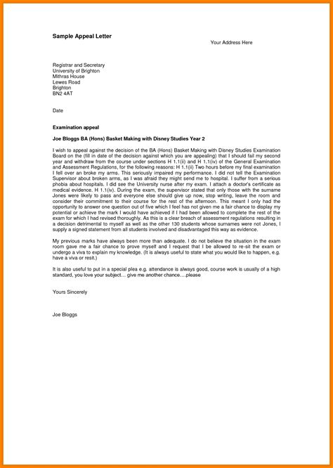 Fema Appeal Letter Exle fema appeal letter exle sle letters formats