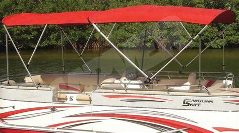 pontoon boat dual bimini top coverquest offers a dual bimini top that provides 16