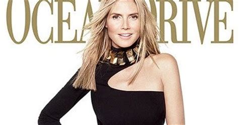 Heidi From The Spreads It For Stuff Magazine And Boy Is Spencer Pleased by Effiong Eton Heidi Klum Talks Photos Insured Legs