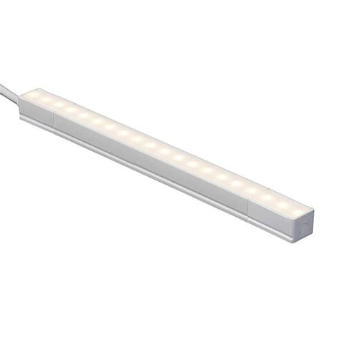 lithonia led cabinet lighting lithonia lighting ucel 48 in led white linkable cabinet light ucel 48in 30k 90cri swr wh