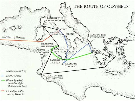 odyssey coloring book a sea coloring journey books map of odysseus adventure