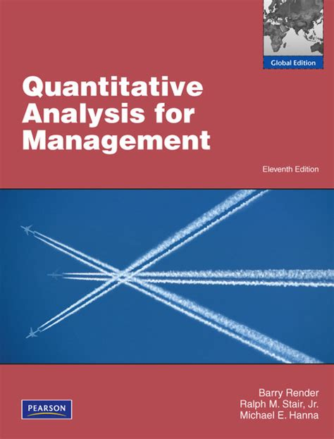 Colorado State Mba Quantitative Analysis by Pearson Education Higher And Professional Education Bookshop