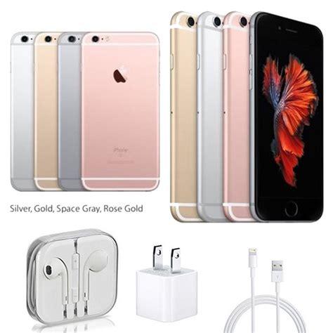 cheap all colors apple iphone 6s plus 16gb 128gb ios unlocked simfree smartphone ebay