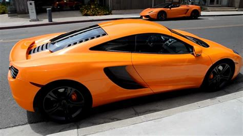 orange mclaren mclaren orange mclaren mp4 12c mclaren newport beach