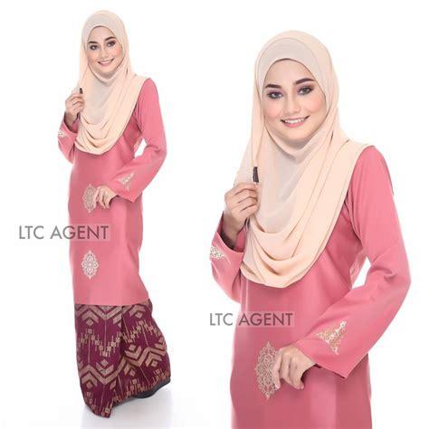 Baju Cotton Soft baju kurung pink baju kurung songket dokoh iv soft pink a