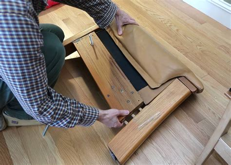 Fixing A Couch Inlays For Torn Out Threaded Inserts