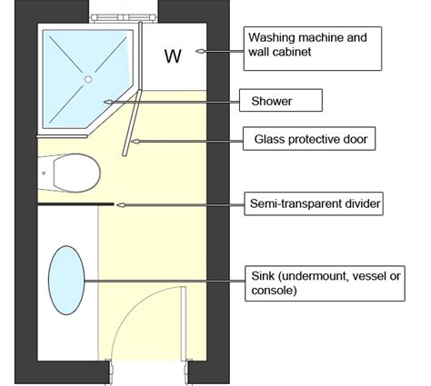 Narrow Bathroom Floor Plans My Bathroom Is And Narrow And The Door Is At The Narrow Side Can You Help Me With The