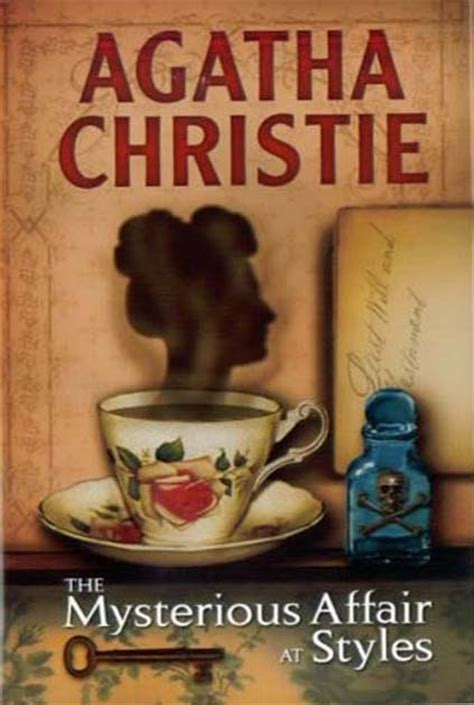 Novel Agatha Christie The Best Of Hercule Poirot Hardcover a library of my own the mysterious affair at styles agatha christie