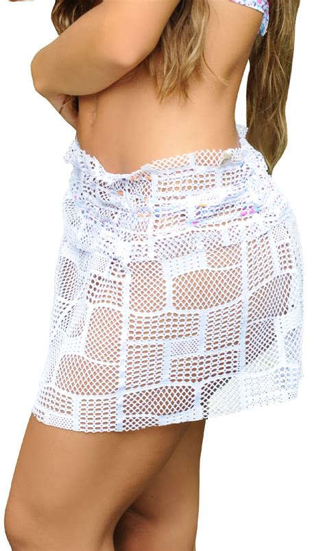corpo s high quality white swim skirt cover up