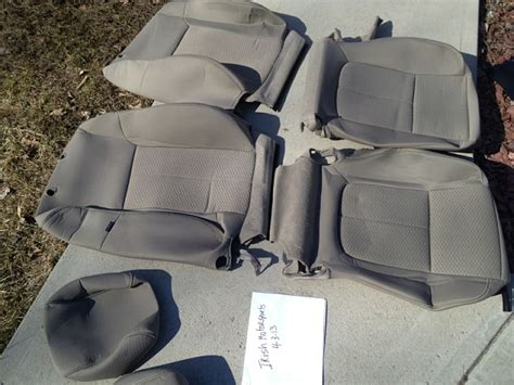 Oem Seat Upholstery ford oem seat covers for 09 and up ford f150