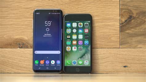 samsung galaxy s8 vs apple iphone 7 cnet