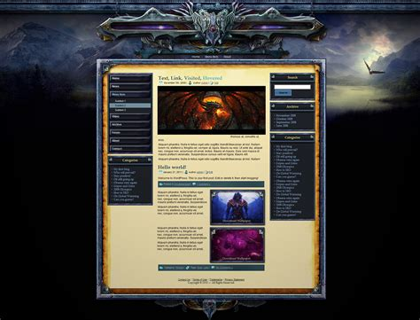theme drupal gaming lord drupal theme