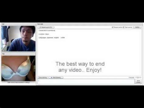 chatroulette web cam chatroulette webcam pretending to be a woman funny