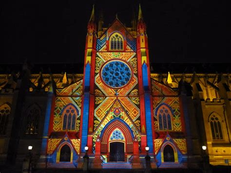cathedral city christmas lights sydney city and suburbs st s cathedral lights