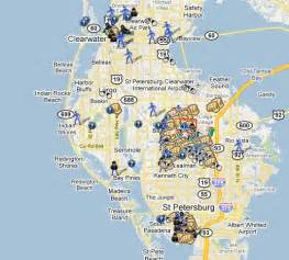 map of pinellas county florida spotting crime in pinellas county florida spotcrime