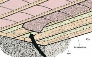 Should I Insulate Basement Walls - how to insulate floors how to insulate a house tips and guidelines howstuffworks
