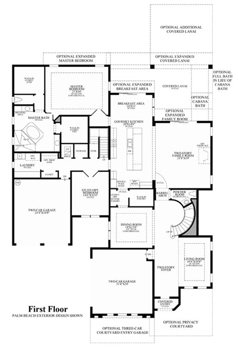 story house floor plans and trieste at boca raton florida royal palm polo signature collection the villa lago