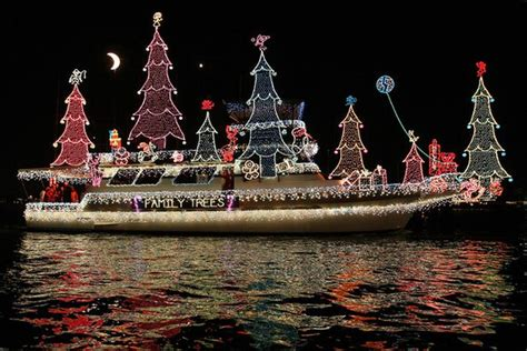 electric boat parade california christmas boat parade 16 pics