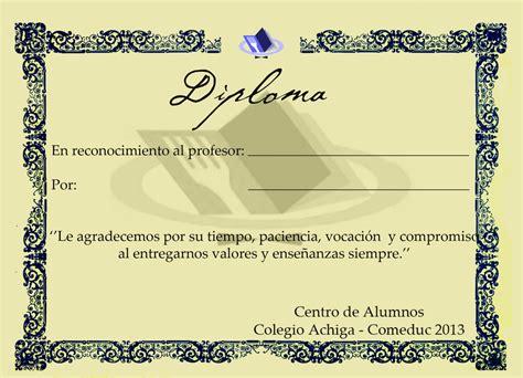 coj 237 n quot mi certificados para mejor profesor coj 237 n diploma peque