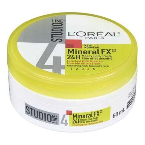 oreal paris studio line mineral fx creme gel hair styler price in l oreal paris studio line mineral fx 24h messy look paste