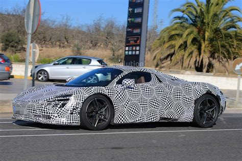 camo mclaren 2018 mclaren 720s p14 spied with black and white