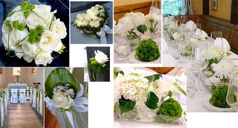 Hochzeitsdeko Natur by Hochzeitsdeko In Gr 252 N Weiss Mit Blumenkugeln Autoschmuck